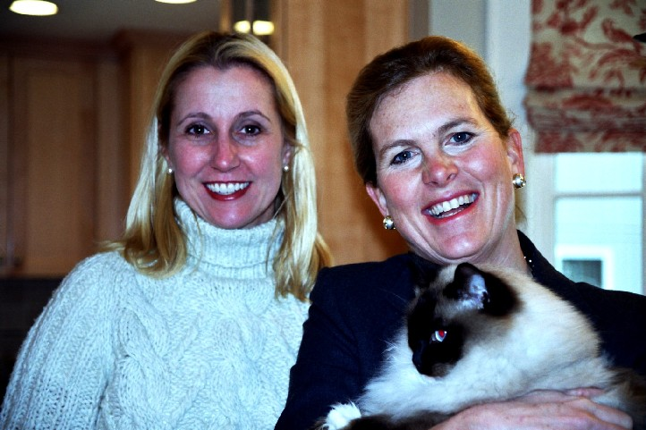 Selectwoman Diane Farrell and Chair Hilary Stevens.jpg